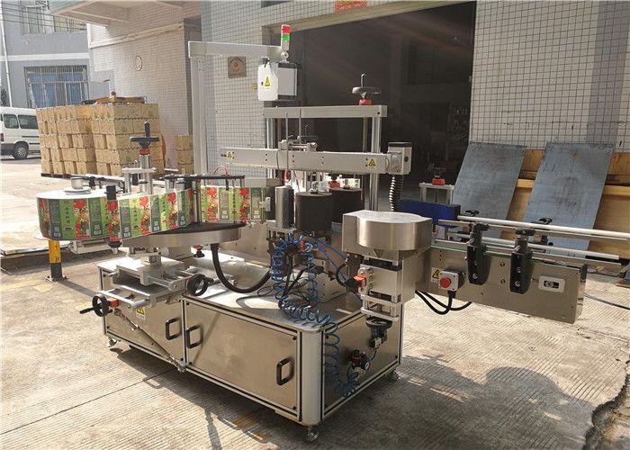 Flachflaschen-Etikettiermaschine 3048 mm x 1700 mm x 1600 mm