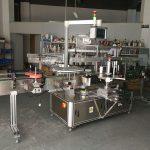 Hochpräzise Multifunktions-Flachflaschen-Etikettiermaschine mit Elektroantrieb