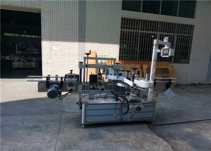 Vollautomatische quadratische Flaschenetikettiermaschine 4000-8000 B / H Kapazität