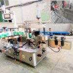 Automatische selbstklebende Etikettiermaschine für Shampoo und Reinigungsmittel