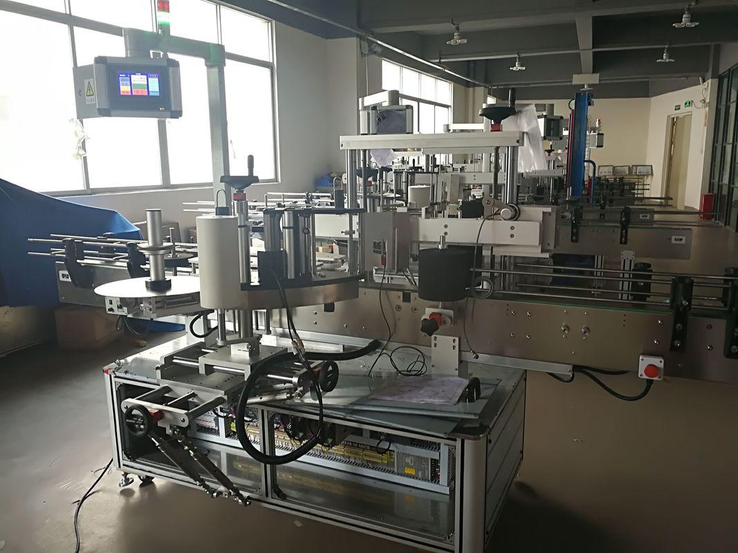 Flachflaschen-Etikettiermaschine, automatische Etikettenapplikatormaschine