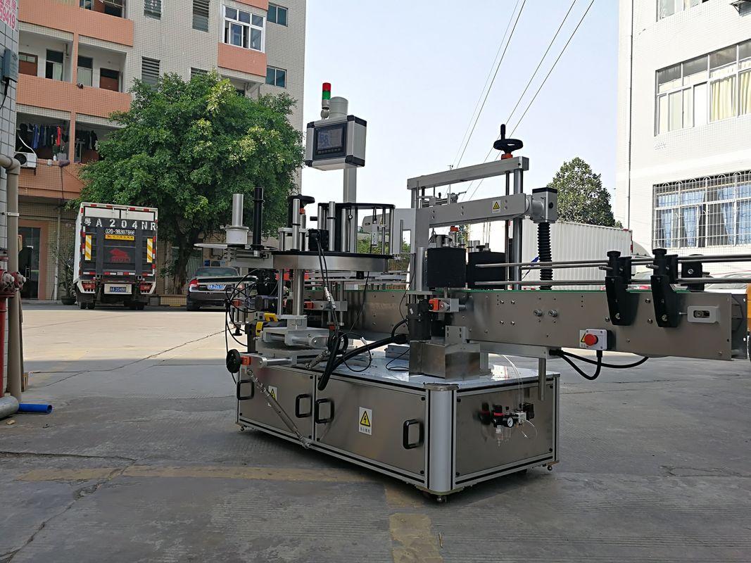 Automatische Hochgeschwindigkeits-Applikatormaschine mit dreiseitigem quadratischem Flaschenetikett