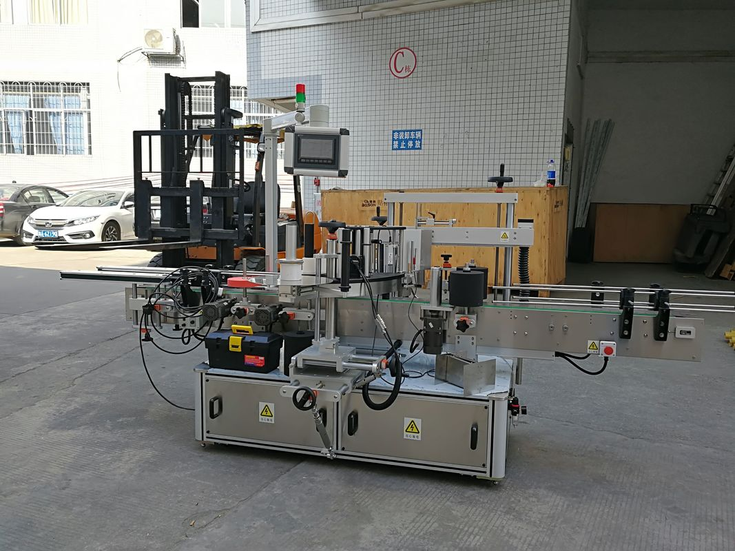 CE Automatische Etikettiermaschine für Aufkleber zum Versiegeln kleiner Kartonecken