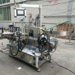 Vollautomatische Doppelseiten-Flaschenetikettiermaschine mit Codierer