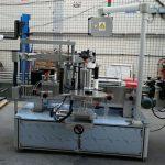 Doppelseitiger Aufkleber Elliptische ovale Flasche Automatische Etikettiermaschine