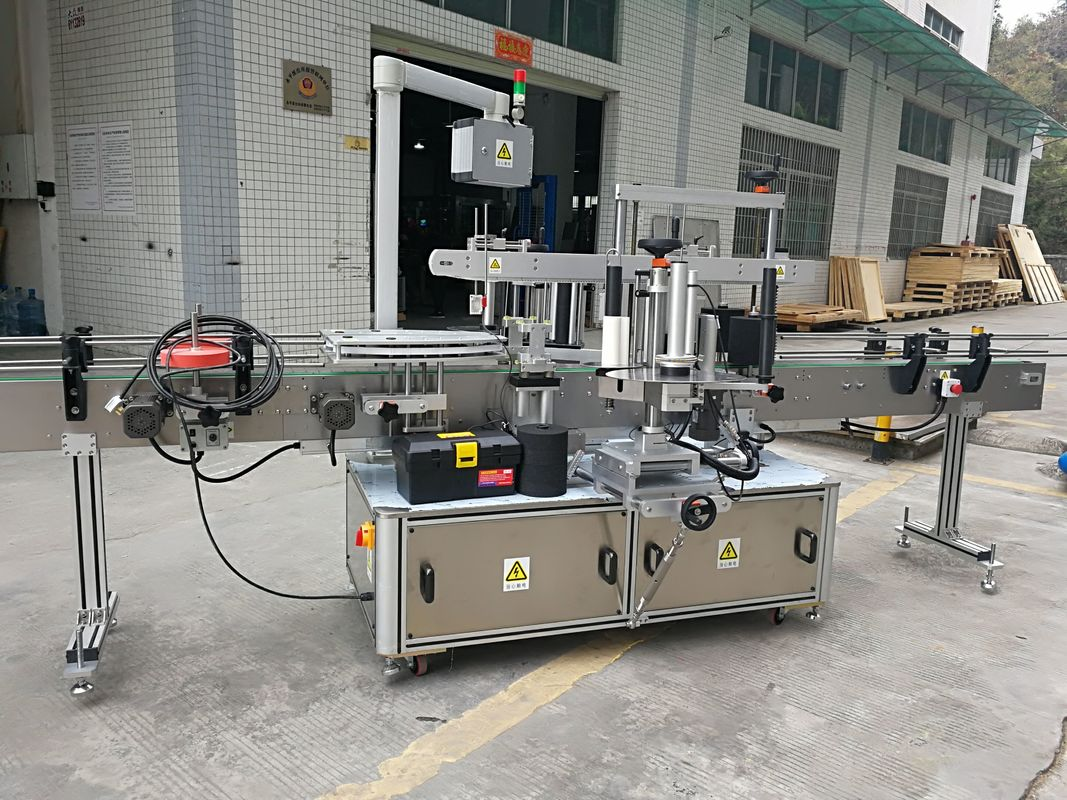 Vollautomatische Karton-Eckversiegelungs-Aufkleber-Beschriftungsmaschine 220V 50HZ 1200W